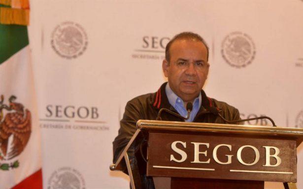 Navarrete Prida destaca consolidación del Sistema Nacional de Protección Civil