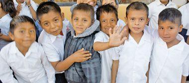 Casi el 50 por ciento de niños mexicanos entre 3 y 5 años no va a la escuela