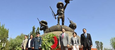 Conmemoran 103 aniversario de la Toma de Zacatecas