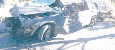 Vehículo volcado en el que murió una persona había sido robado en Guachochi