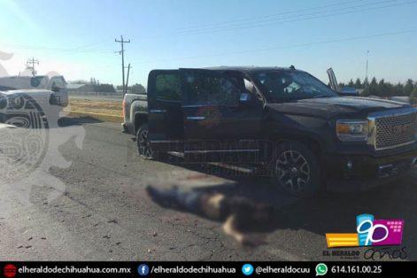 Ocho muertos en balacera en Chihuahua