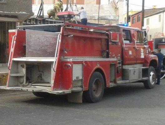 Incendio de Camioneta en Avenida Niños Héroes