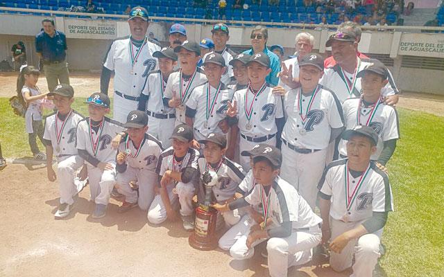 LOS MINERITOS de 11 años se quedaron con el subcampeonato nacional de beisbol.