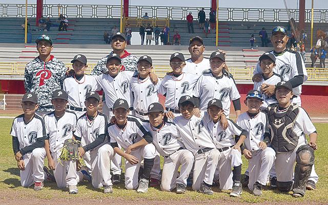 LOS MINERITOS de Parral, categoría 11 Años, hoy disputarán el título nacional en Aguascalientes.