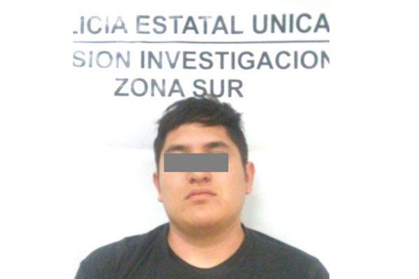 Detienen a presunto cómplice en asesinato del joven José Enrique Granados Márquez
