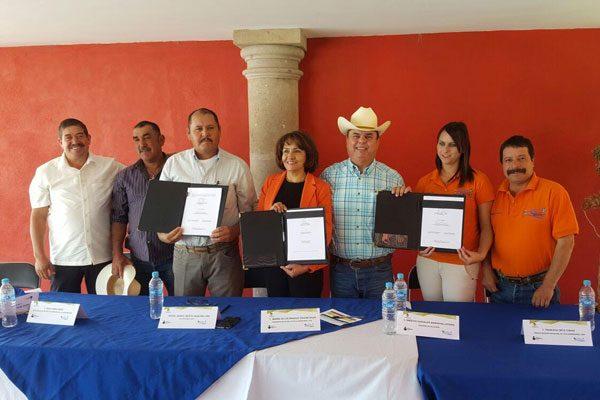 Firma el Ichea convenio con los municipios de Matamoros y Zaragoza