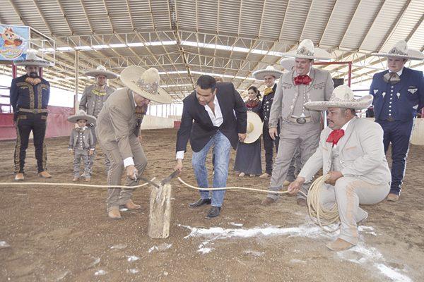 Inauguran aquí el IX Campeonato Estatal Charro