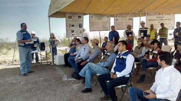 Video: Empresa minera Coanzamex lleva a cabo Simulacro de Emergencias Químicas mayores