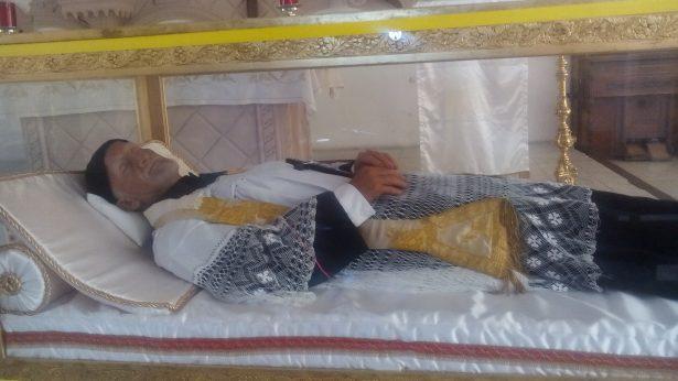 Llegan las reliquias de San Vicente de Paúl