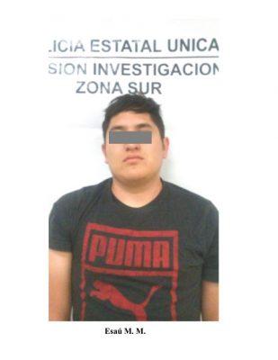 Detienen a cómplice del homicidio del Joven José Enrique Granados