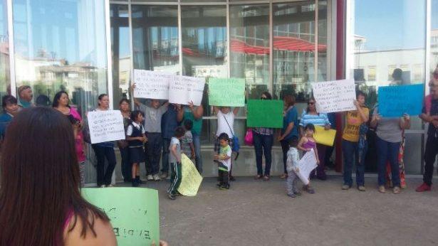 Video: Se manifiestan ex trabajadores de la Junta Municipal de agua y saneamiento en el edificio de Gobierno