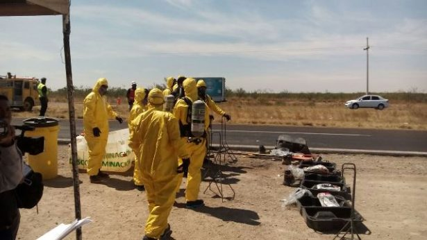 Videos: Empieza simulacro de emergencias químicas