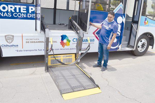 Pondrán dos rutas de transporte  gratuito para personas con discapacidad