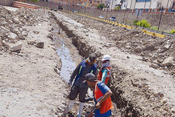 El colector de aguas negras no estará listo para las Jornadas Villistas: Jmas