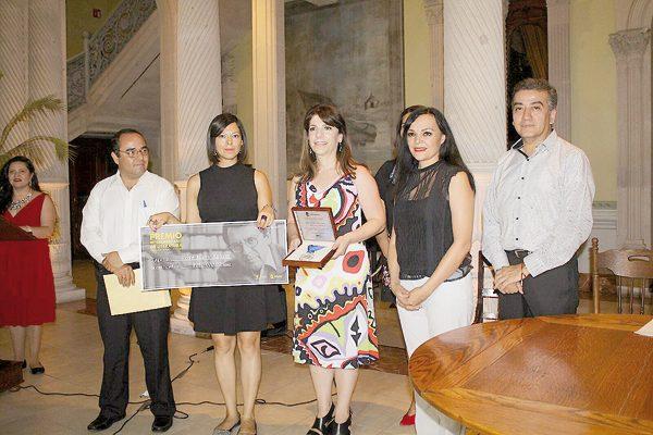 Premio Interamericano para el libro El agua que mece el silencio