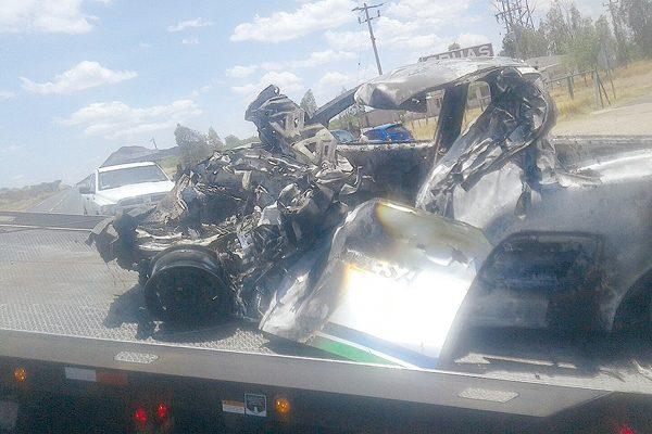 Trágico accidente cerca de valerio; hombre muere calcinado
