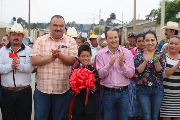 Inauguran seis obras de gran prioridad en Guachochi