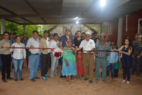 Inauguran 18 Km de electrificación en la comunidad de El Tigre de San Rafael