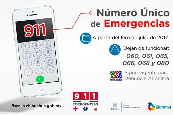 A partir del 2 de julio 911 será el número fijo para emergencias