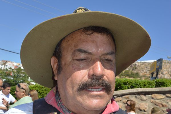 Se prepara Félix Acosta Contreras para escenificar el simulacro de Francisco Villa