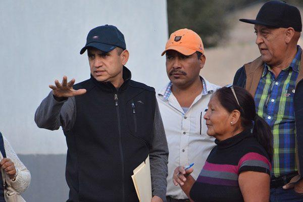 Programan gira de inauguración de obras en Guadalupe y Calvo