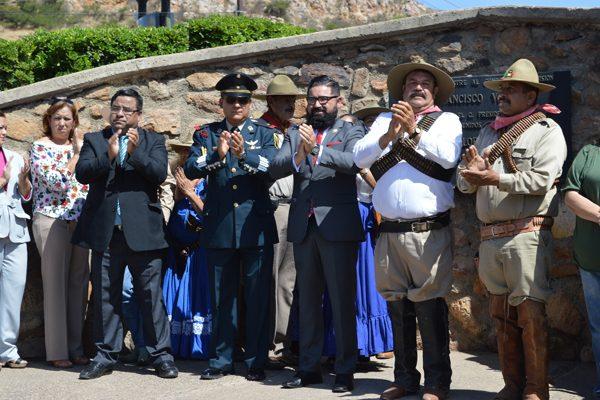 Celebraron el 139 natalicio del General Francisco Villa