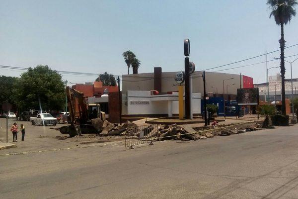 Nuevas obras de pavimentación en las calles Colegio e Independencia