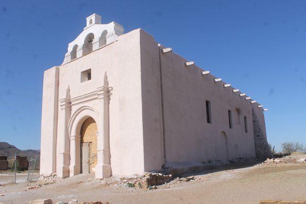 Planean culminar rescate del templo San  Diego Minas Nuevas para el año próximo