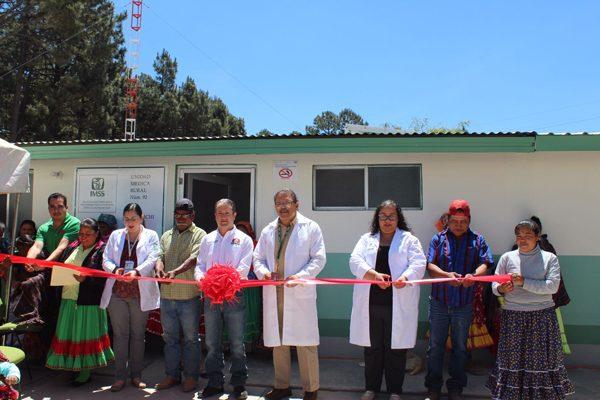 Inauguran nueva infraestructura de la Unidad Médica en Guachochi