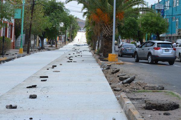 Pretenden que la pavimentación de la Independencia llegue hasta los carriles de ascenso de la Constitución