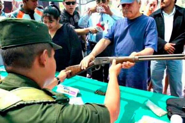 Canje de armas en Allende del 19 al 21 de junio