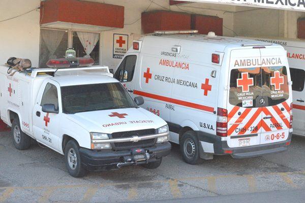 Manifiestan vecinos la ausencia de la Cruz Roja en el accidente de joven motociclista