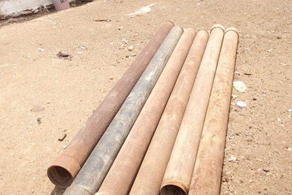 Recuperan tubería robada  en la Jmas hace 15 días