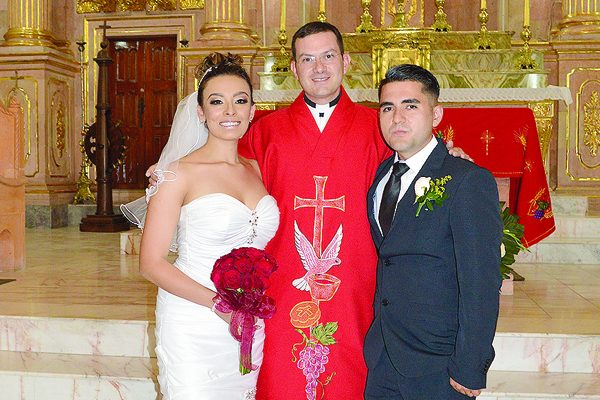 Se Unieron en Matrimonio Marcia López Amaya  y  Jesús Esparza Ríos