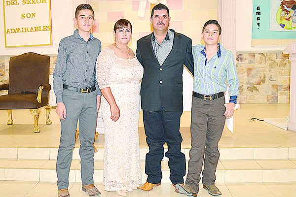 Contrajeron Matrimonio Religioso Hortensia Monárrez y Marco Antonio Rodríguez