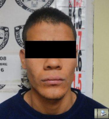 Detenido como probable responsable de privar de la vida a su madre, a quien  golpeo y agredió con arma punzo cortante