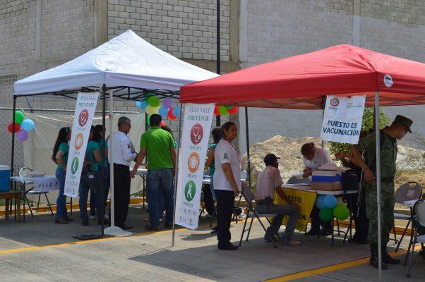 Realiza Capa primera Feria de Salud