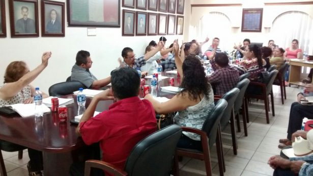 Clausuran de expendio de bebidas alcohólicas en ejido San Felipe