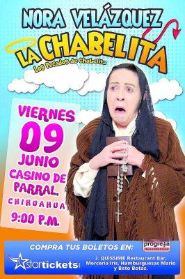 ¡El Sol de Parral te lleva a ver a Chabelita!