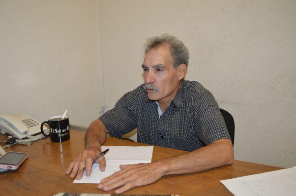 Lorenzo Guillén deja las filas de El Sol de Parral después de 32 años de laborar en el mismo