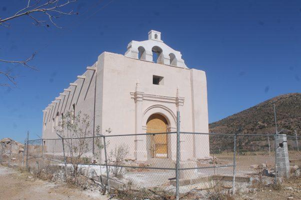 Contemplan terminar los trabajos de rescate del templo de San Diego Minas Nuevas para el próximo año