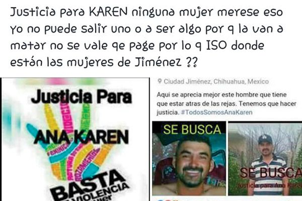 Claman en redes sociales  justicia para Ana Karen