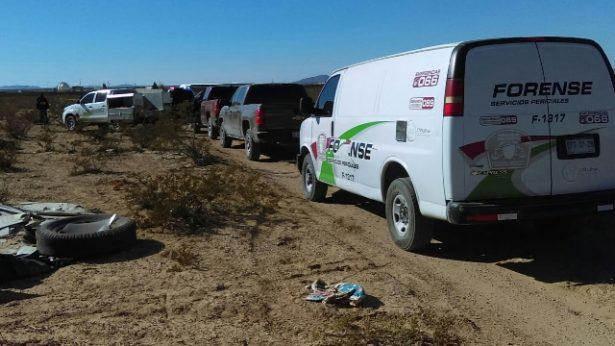 Encuentran a mujer degollada en una brecha de Guadalupe y Calvo