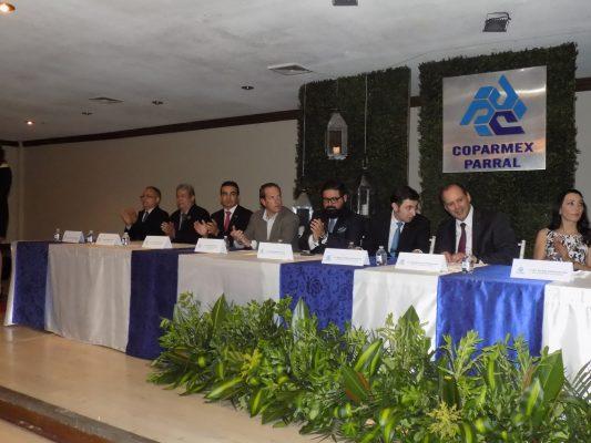 """El Alcalde Alfredo Lozoya se compromete ante integrantes de la COPARMEX a conformar el """"Consejo Municipal de Transparencia"""""""