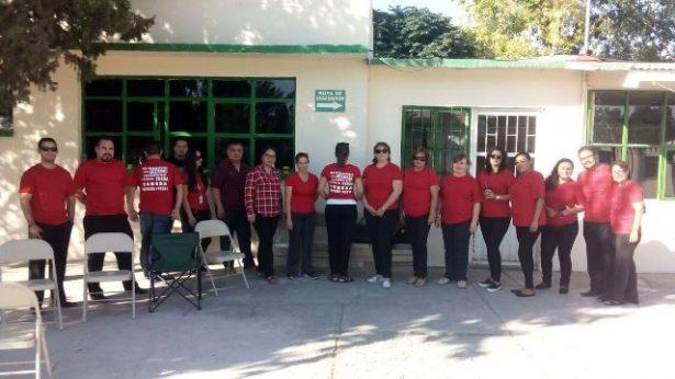 Se manifiestan y laboran bajo protesta trabajadores del Cobach de la zona de Parral y Jiménez