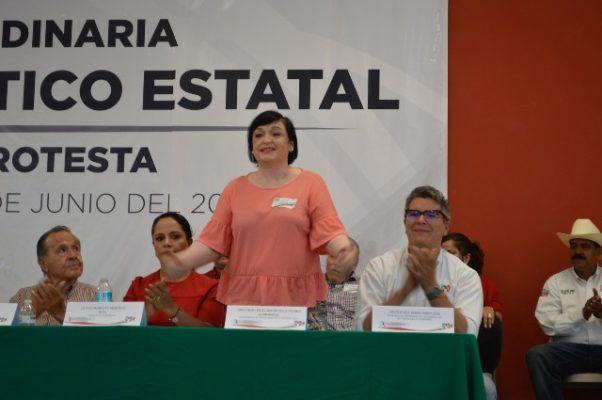 No busquemos vendettas entre priistas, les imploro unidad: Isela Torres