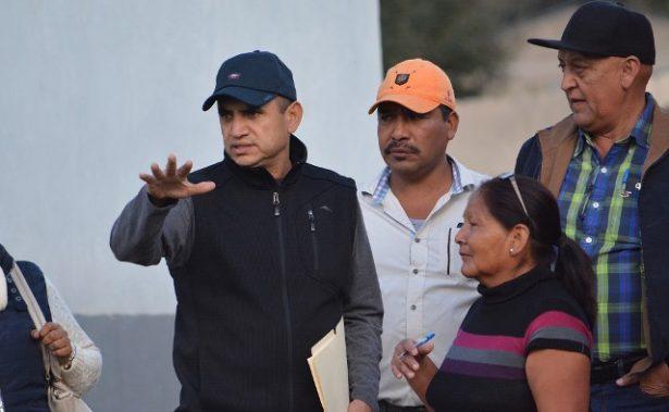 Inicia Noel Chávez gira de inauguración de obras por las comunidades de Guadalupe y Calvo