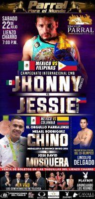 """Misael """"Chino"""" Rodríguez ya tiene rival para pelea en Parral"""