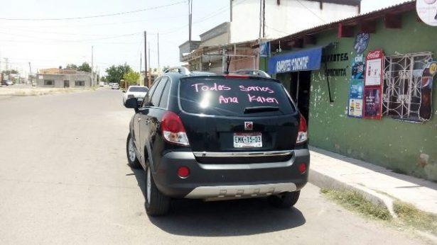 Se manifiestan familiares, amigos y ciudadanos en la oficina del MP en Jiménez