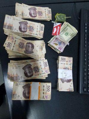 La Policía Municipal recupera 180 mil pesos de un robo